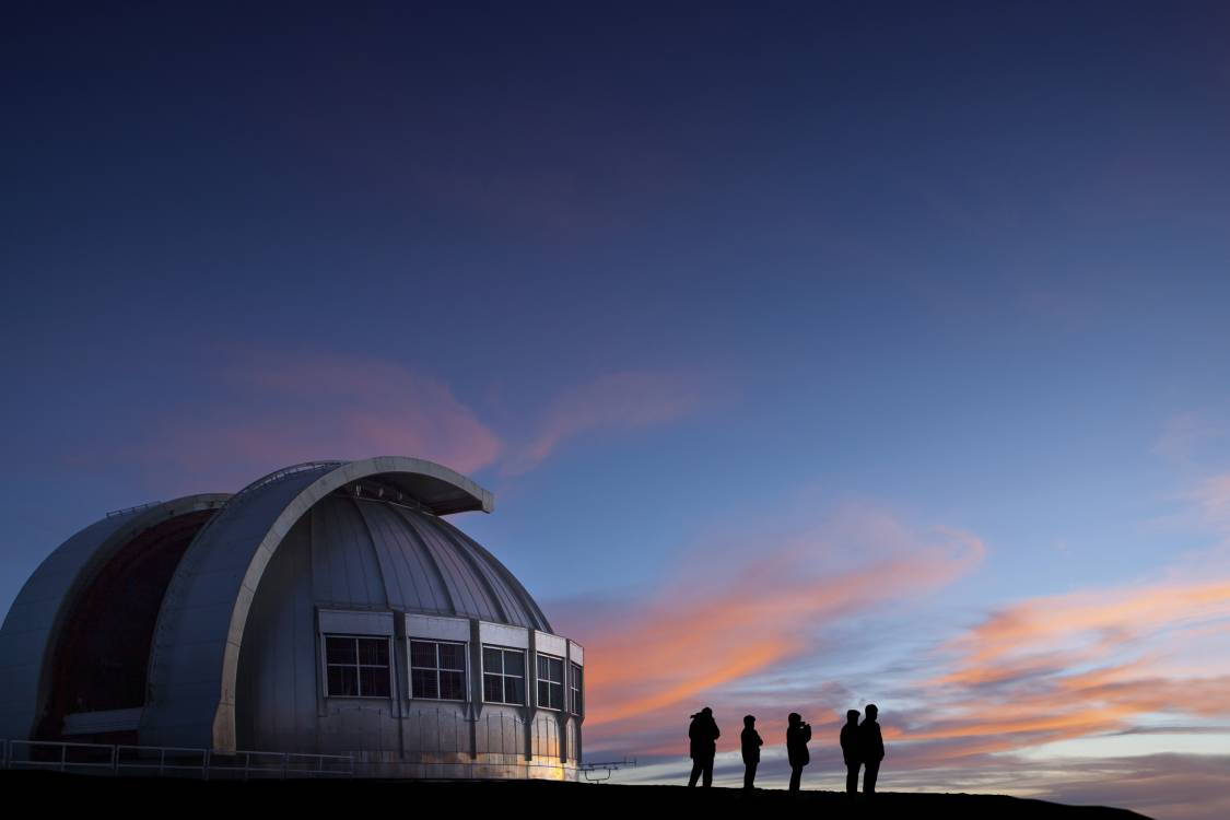 Observatory at twilight