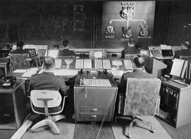 nuclear command center