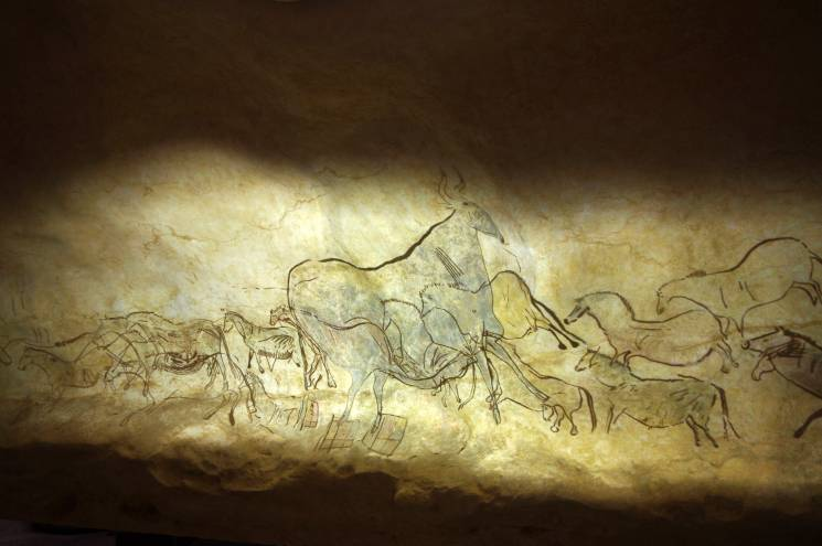 Lascaux cave paintings highlighting early human artistic innovation