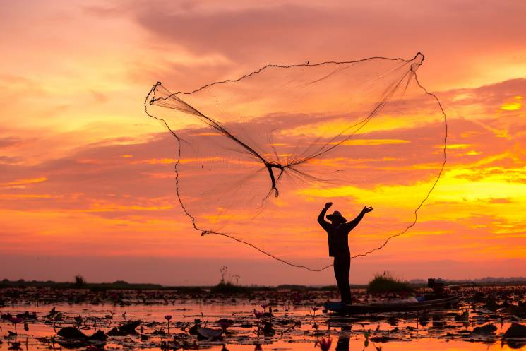 Family fisherman in Thailand; Getty Images