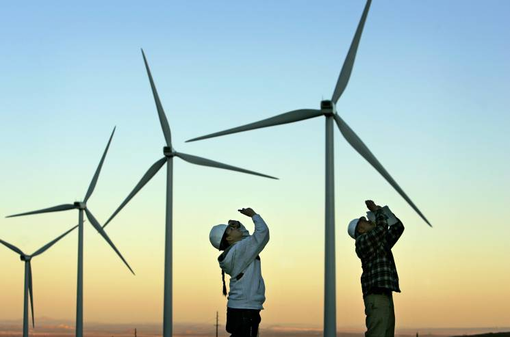 Wind power shows a promising solution to climate change by reducing emissions