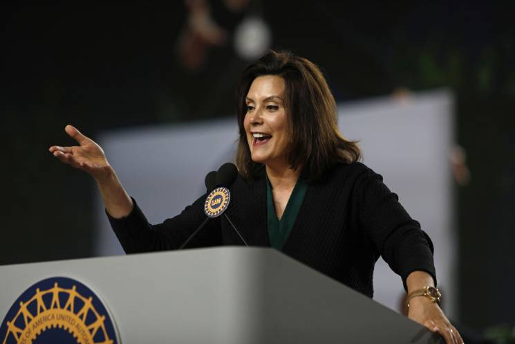 Newly elected Governor Gretchen Whitmer promises to help residents of Flint;Getty Images