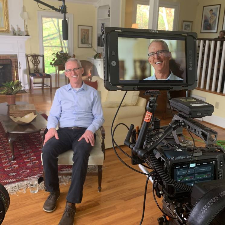 Former Congressman and RepublicEn founder Bob Inglis, interviewed at his home; Generous