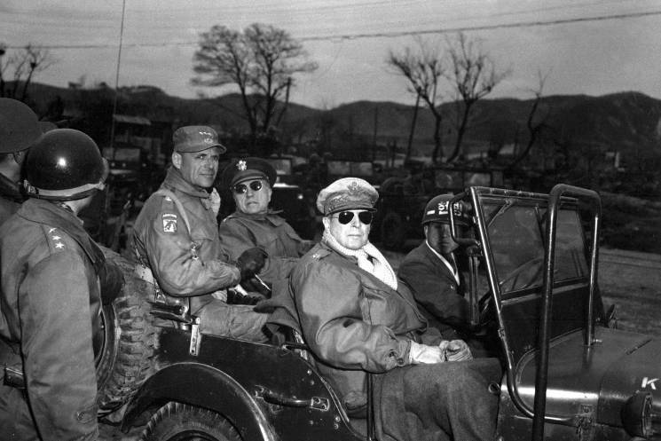 general in jeep