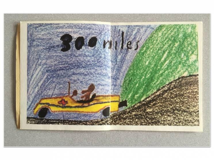 Un niño imagina un vehículo del futuro, capaz de recorrer 300 millas usando combustible benigno al ambiente; Penguin Random House Books