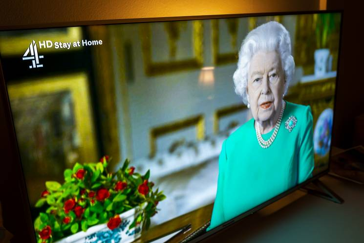 Queen Elizabeth on TV