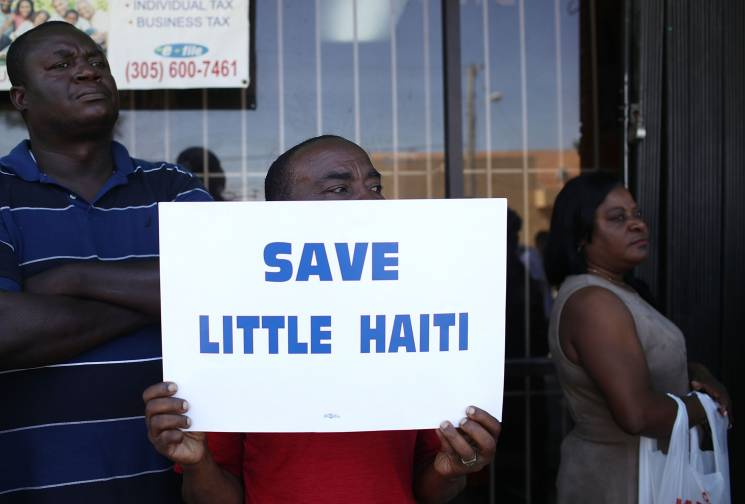 Gentrification Of Miami's Little Haiti Neighborhood Forces Closures Of Businesses Serving Community; Getty