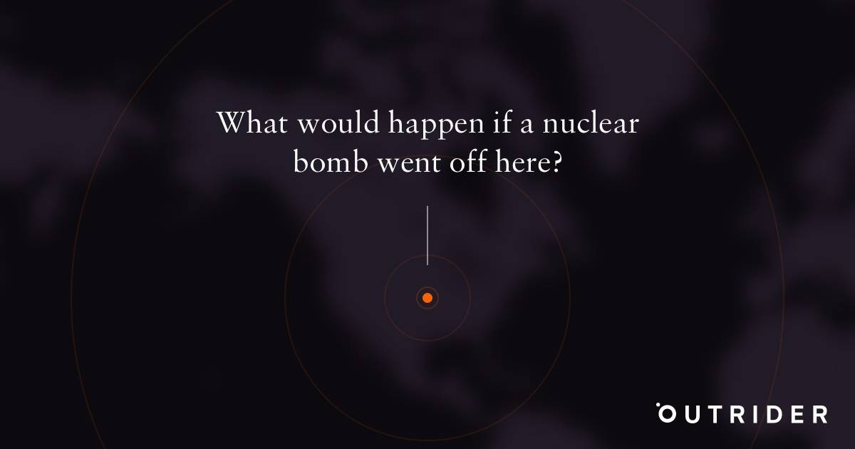 What would happen if a nuclear bomb went off in your backyard?