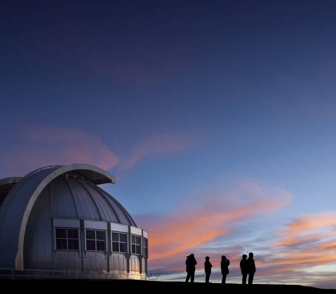 Observatory at twilight
